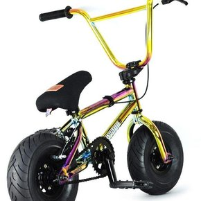 FATBOY Mini BMX The PRO War Head Oil Slick 10""