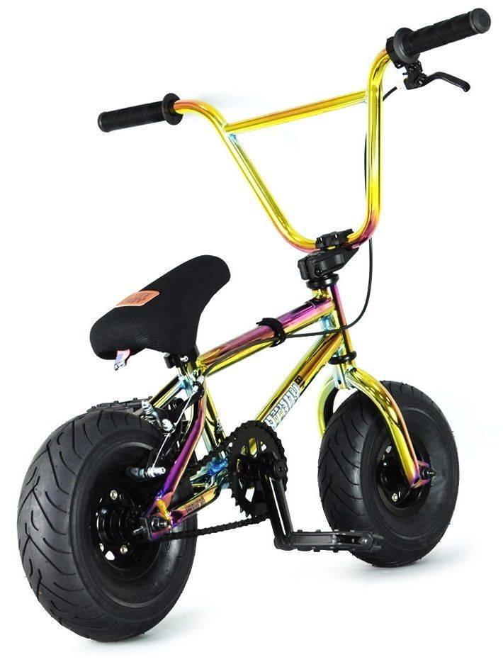 """FATBOY Mini BMX The PRO War Head Oil Slick 10"""""""
