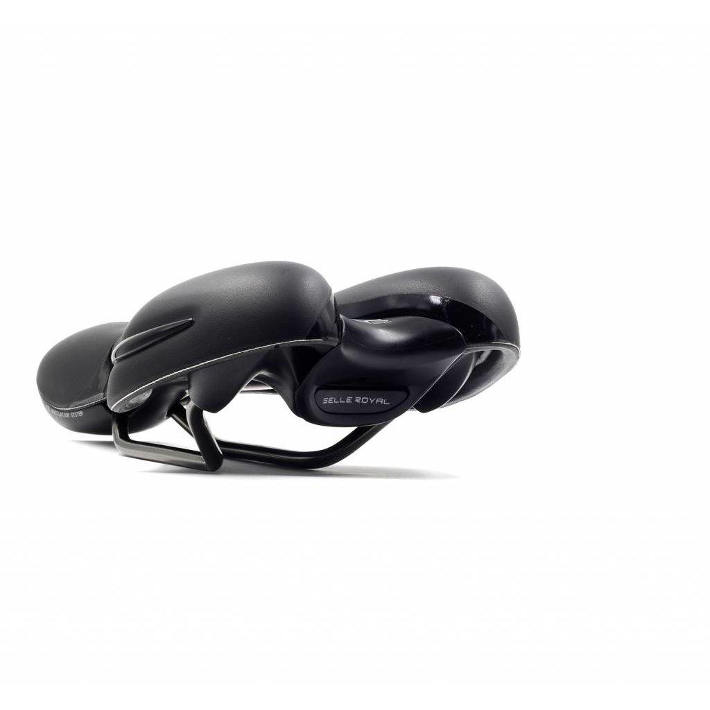 Selle Royal SADDLE SELLE ROYAL Comfort Respiro Athletic Unisex Black Leather