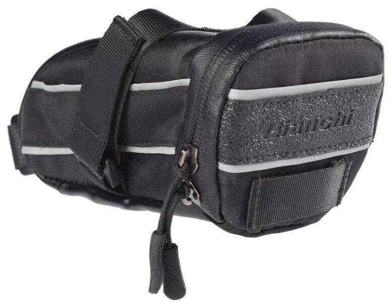 SADDLE BAG BIANCHI 0.75L BLACK