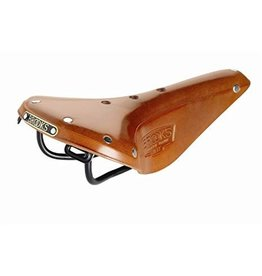 Brooks SADDLE BROOKS B17 Narrow Honey Black Steel