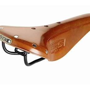 SADDLE BROOKS B17 Narrow Honey Black Steel