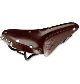 Brooks SADDLE BROOKS B17 Narrow Antique Brown - Black Steel