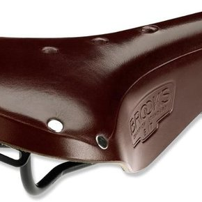BROOKS B17 Narrow Antique Brown - Black Steel