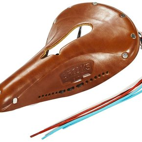 SADDLE BROOKS Imperial B17 Std w/ Hole and Laces Honey