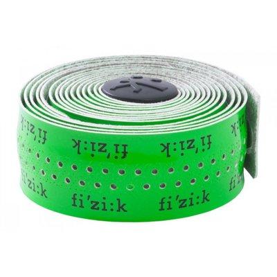 Fizik HANDLEBAR TAPE & PLUGS FIZIK Superlight Glossy - Fluorescent Green w/ Logos