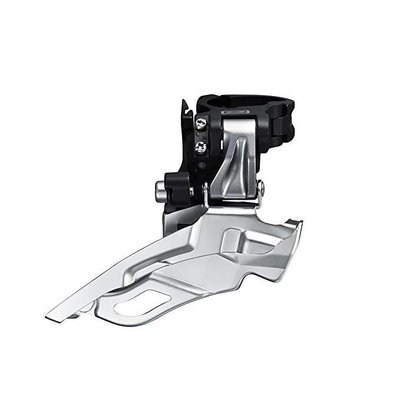 Shimano FRONT DERAILLEUR, FD-M590, DEORE TOP-SWING DUAL-PULL BAND