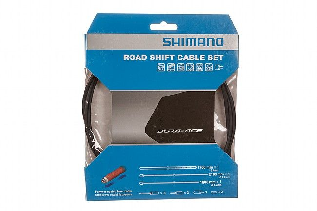 Shimano ROAD SHIFT CABLE SET POLYMER COATED H.GRAY