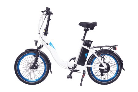 ELECTRIC BIKE MAGNUM Classic Low Step 36V White/Blue