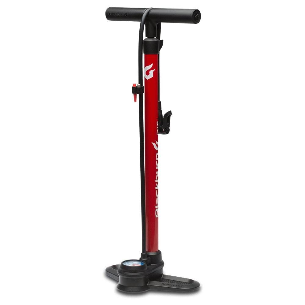 Serfas FLOOR PUMP SERFAS ALLOY RED DUAL HEAD