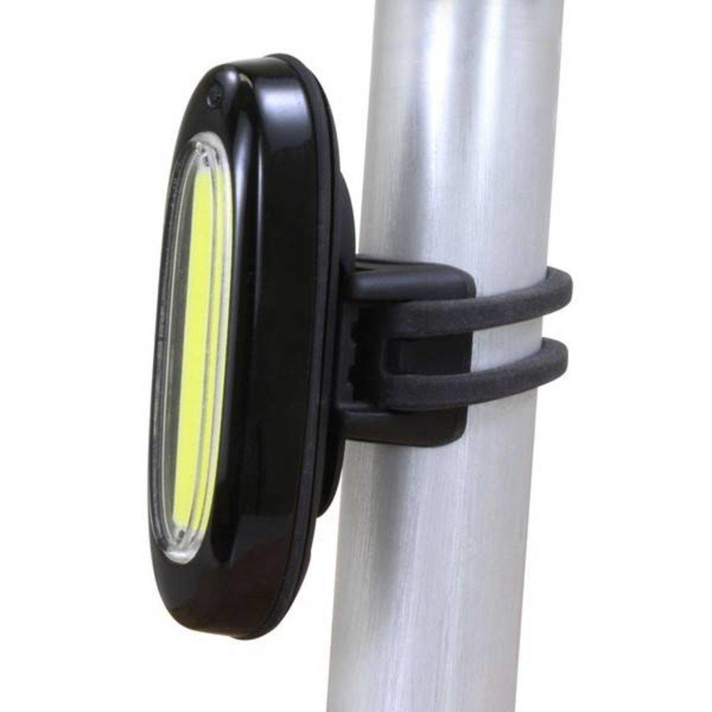 HEAD LIGHT USB SERFAS QUASAR CLEAR STRIP LED BLACK