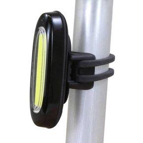 HEADLIGHT USB SERFAS QUASAR CLEAR STRIP LED BLACK