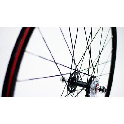 WHEELS 700 DTLA SEALED BEARINGS Complete w/ Tires - Pair (1LOVE)