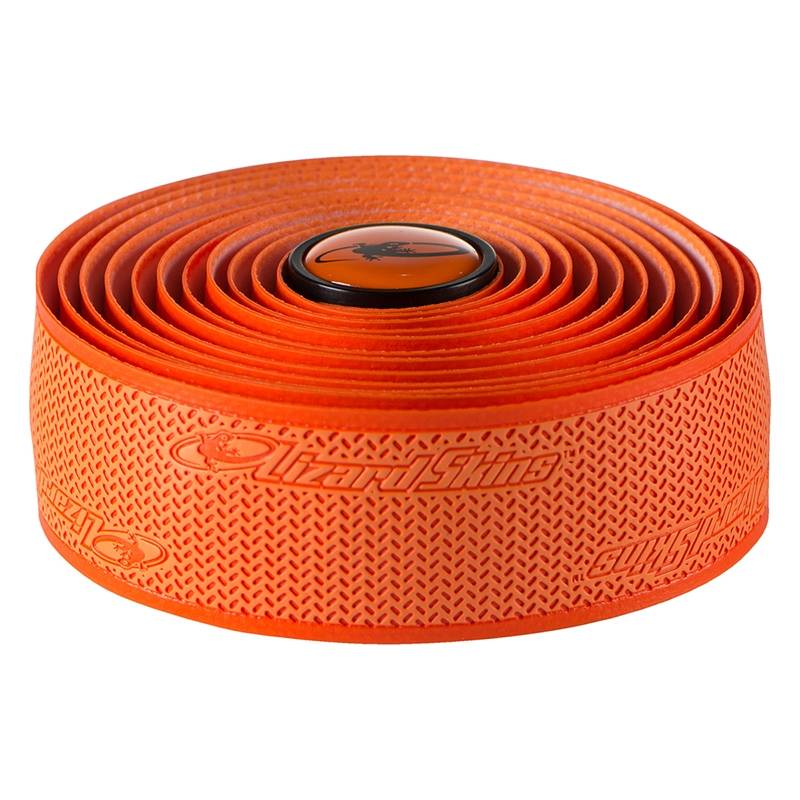 Lizard Skins CINTA Y TAPONES PARA MANILLAR Lizard Skins Orange DSP 2.5mm Bar Tape
