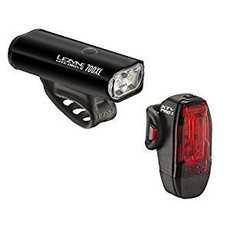 Lezyne LIGHT SET Lezyne LITE DRIVE 800XL BLK/HI GLOSS  LITE DRIVE FRONT / KTV PRO REAR
