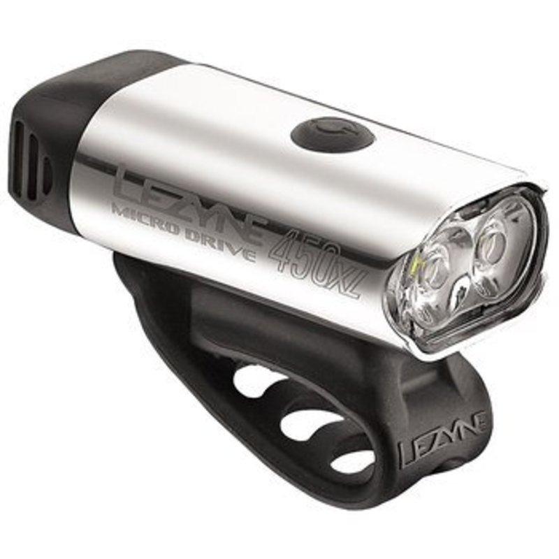 Lezyne HEADLIGHT USB Lezyne Micro Drive 450XL Silver