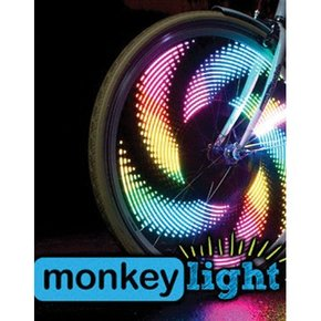 MonkeyLectric LUZ DE RUEDA MONKEYLECTRIC M210 MONKEY LIGHT