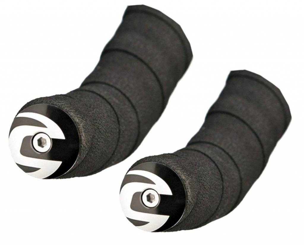 Cannondale END PLUGS CANNONDALE Handlebar Plugs Alloy Black
