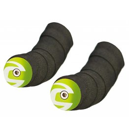 Cannondale END PLUGS CANNONDALE Handlebar Plugs Road Green