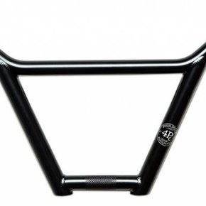 GT HANDLEBAR GT 4pc Original BMX Bar 9.125in BLACK