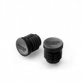 Brooks BAR END PLUGS BROOKS Rubber Black BYB 372
