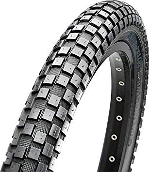 "Maxxis Maxxis Holly Roller Tire: 26 x 2.20"", Wire, 60tpi, Single Compound, Black"