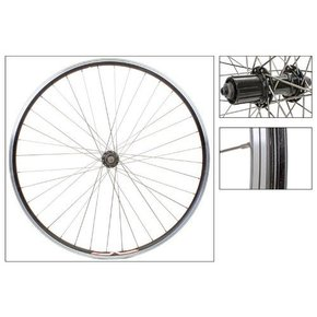 WHEEL 700 622x14 VELO DEEP-V PAIR MSW 36 5800 8-11sCASS BK 130mm