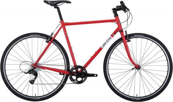 BIKES ALL CITY PONY EXPRESS BLACK/RED 55cm