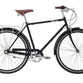 BIKES PURE CITY BOURBON 3 SPEED BLACK/BLACK 54CM