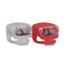 XLC LIGHT SET XLC GRIPLIGHT WHITE/RED