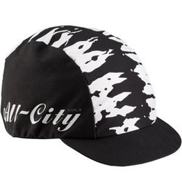 All-City GORRO DE CICLISMO All-City Wangaaa! Negro / Blanco Talla única