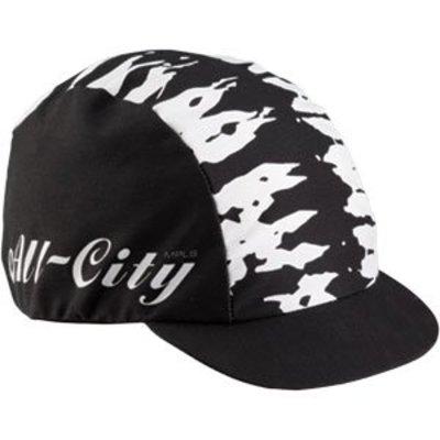 All-City GORRO DE CICLISMO All-City Wangaaa! Negro / Blanco Talla única