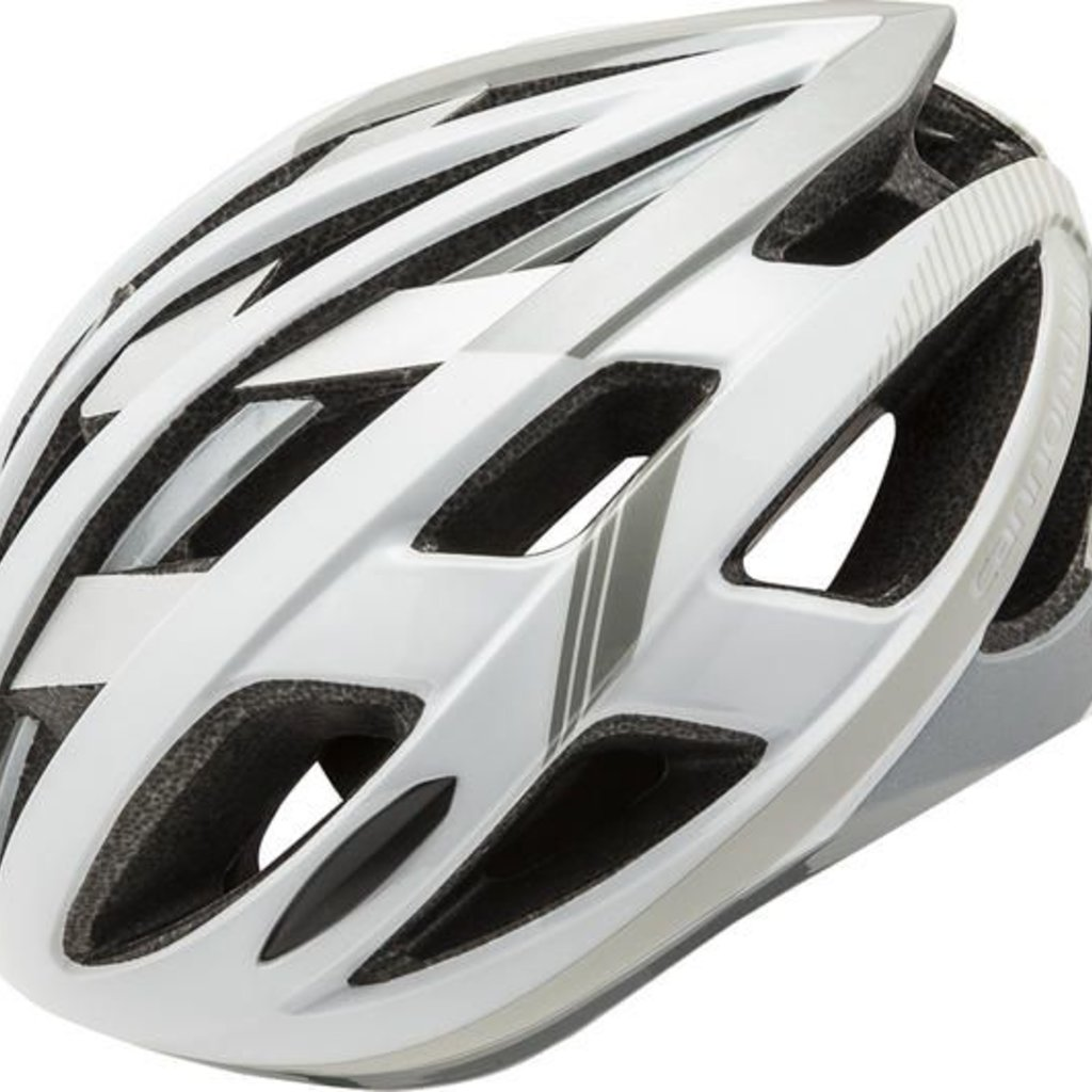 HELMET CANNONDALE CAAD White/Silver SMALL/MED