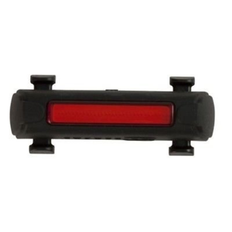 Serfas REAR LIGHT USB SERFAS UTL-6 THUNDERBOLT BLACK