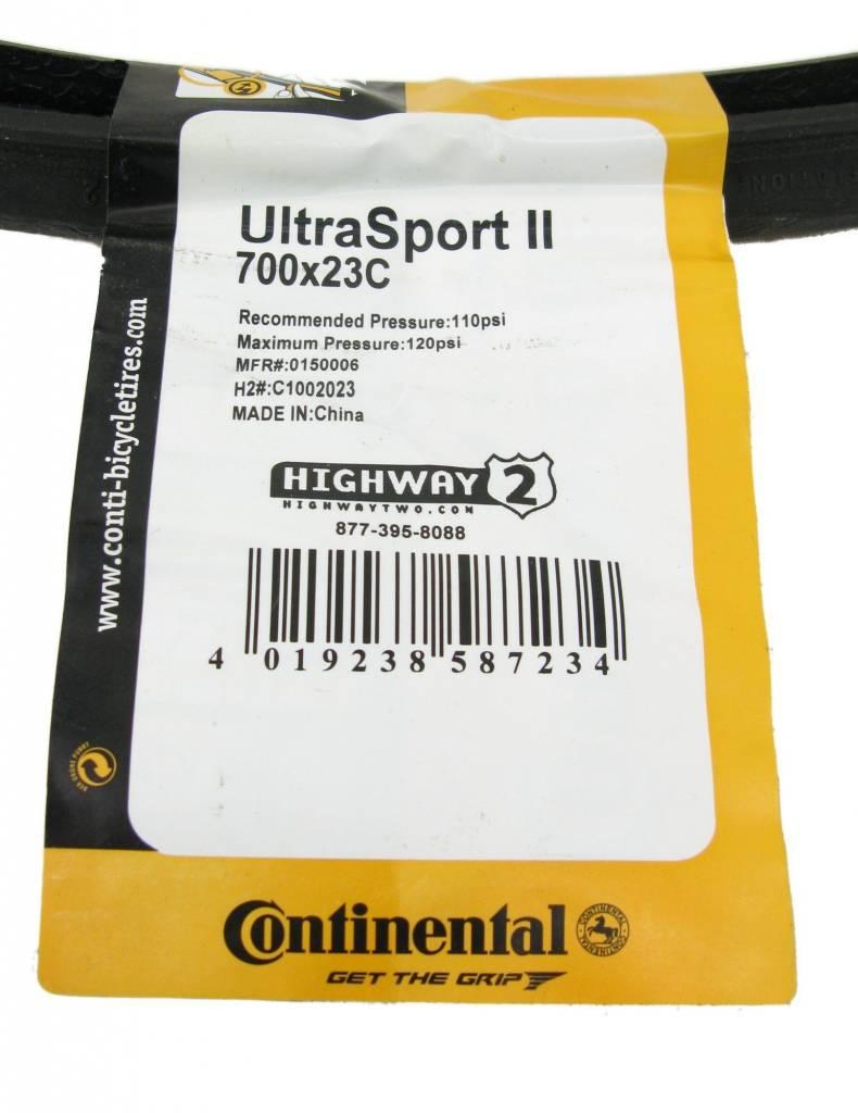 Continental Llantas Plegables 700x23 Continental Ultra Deportes Azul
