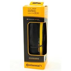 Continental TIRES FOLD 700x25 CONTINENTAL ULTRA SPORT II Yellow-BW
