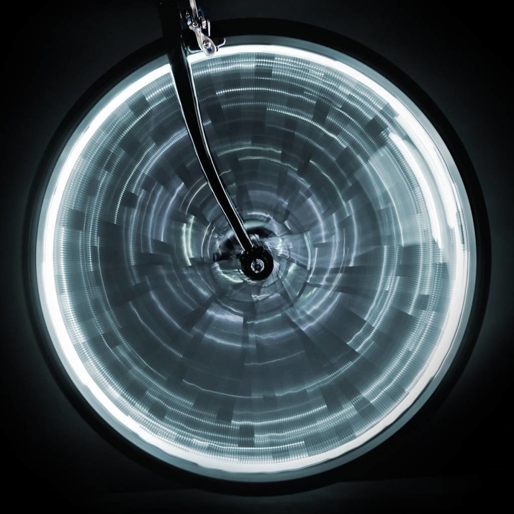 LIGHT SUNLITE WHEEL GLOW for one wheel - White