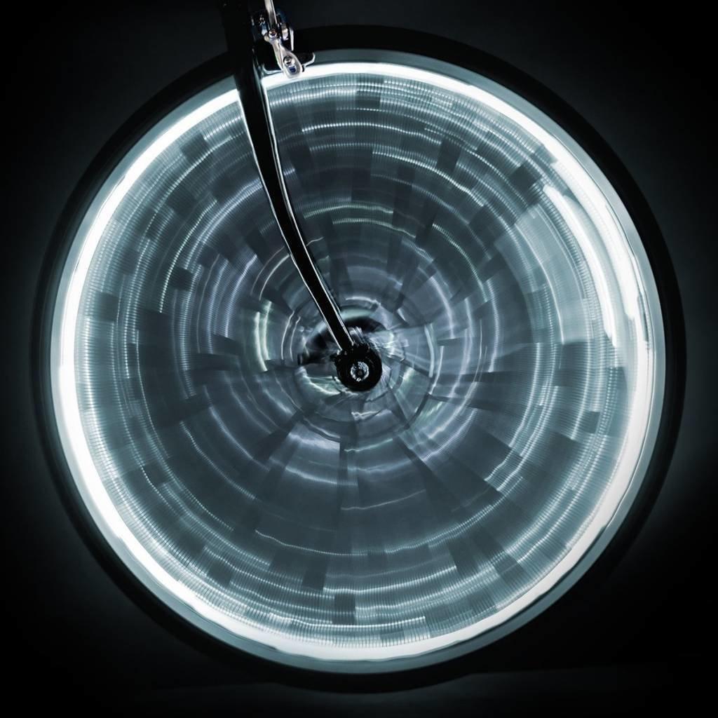 LIGHT SUNLITE WHEEL GLOW for one wheel - White