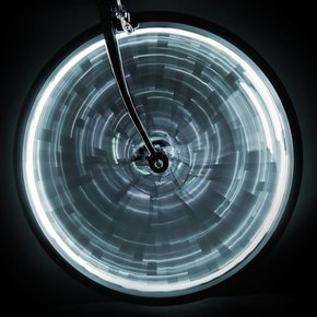 LIGHT SUNLITE WHEEL GLOW para una rueda - Blanco