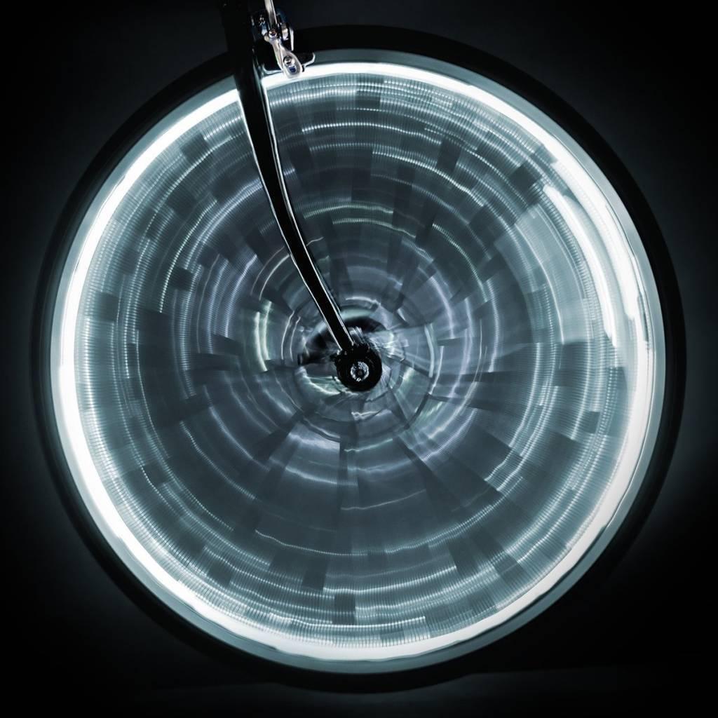 LIGHT SUNLITE WHEEL GLOW para una rueda - Blanco