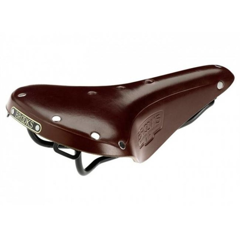 Brooks SADDLE BROOKS B17 STANDARD WOMEN'S - ANTIQUE BROWN - BLACK STEEL