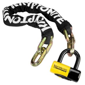 Kryptonite LOCKS CHAIN KRYPTONITE NY Fahgettaboutit 1410