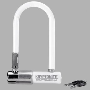 Kryptonite cerraduras u-lock kryptonite kryptolok series 2 mini-7 3.25x7 blanco
