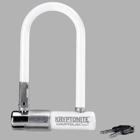cerraduras u-lock kryptonite kryptolok series 2 mini-7 3.25x7 blanco