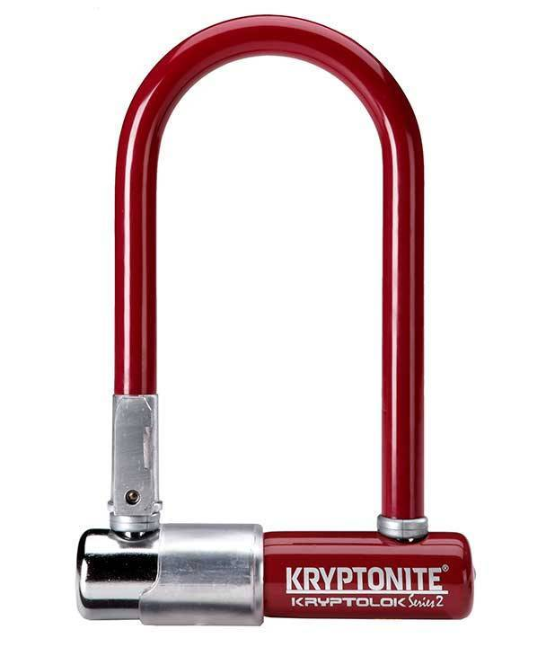 Kryptonite LOCKS U-LOCK KRYPTONITE Kryptolok Series 2 Mini-7 3.25x7 Merlot