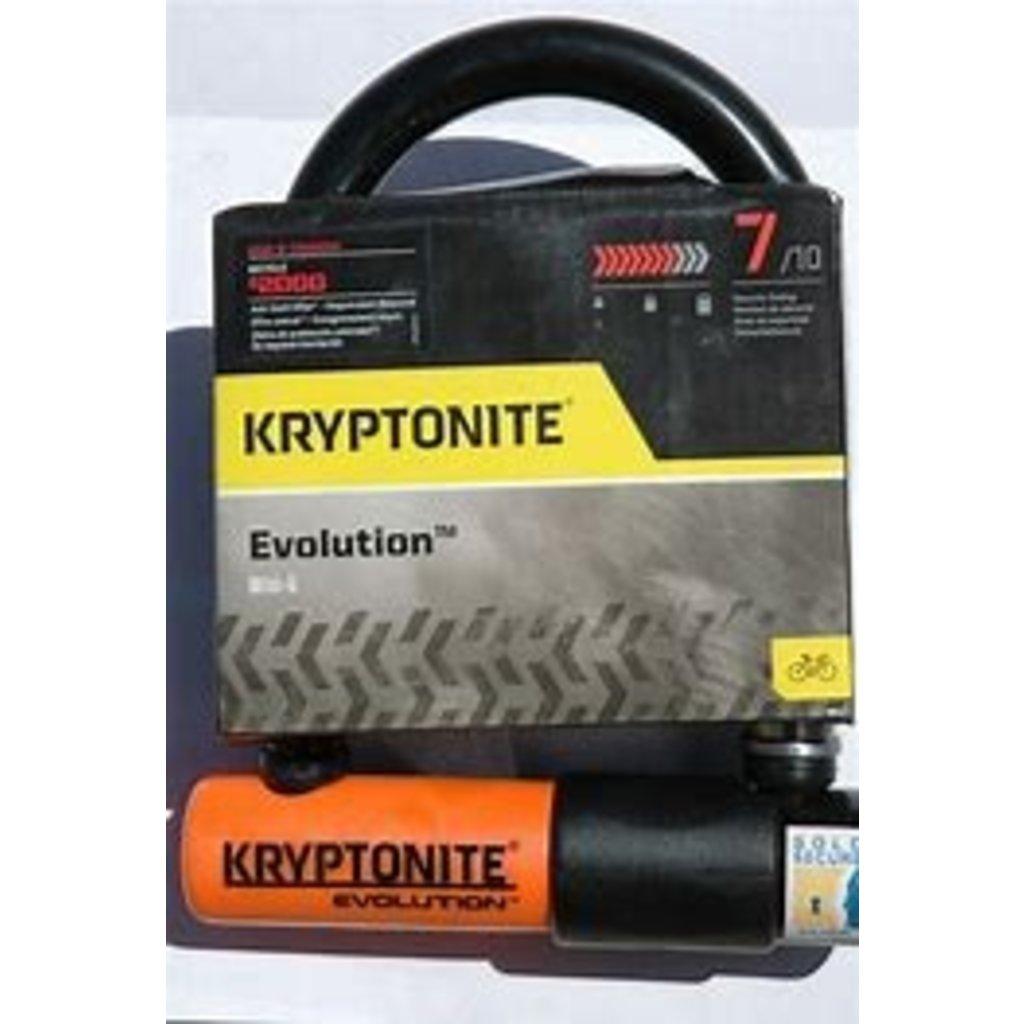 """Kryptonite LOCKS U-LOCK KRYPTONITE EVOLUTION Mini-5 3.5"""" x 5.5"""