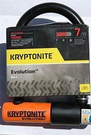 """Kryptonite CERRADURAS U-LOCK KRYPTONITE EVOLUTION Mini-5 3.5 """"x 5.5"""