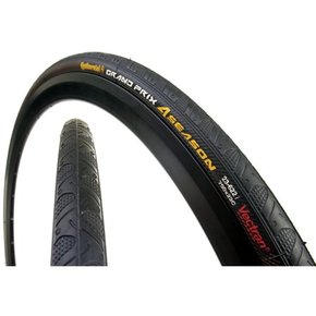 TIRES 700x25 CONTINENTAL GRAND PRIX 4 SEASON BLACK EDITION Black-Black DuraSkin