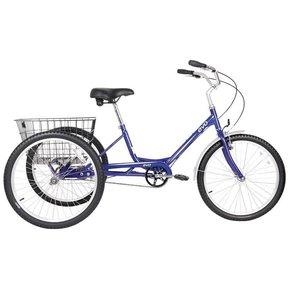 "TRICYCLE EVO Latitude Trike 24 ""Rueda NEGRA"