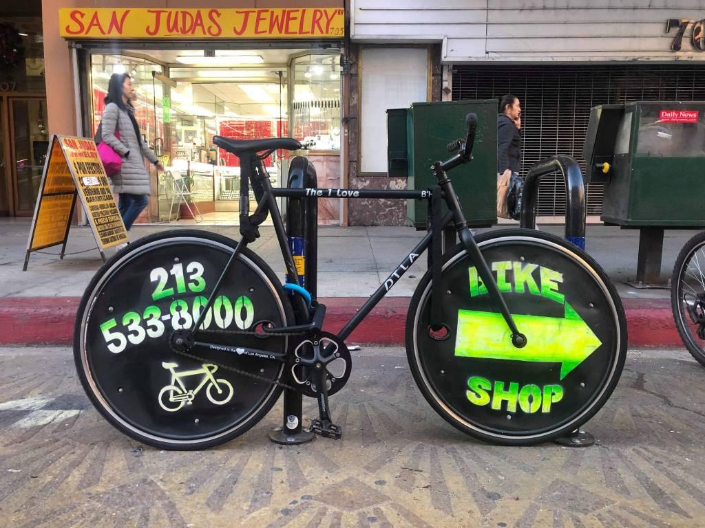 Bicicleta de DTLA Bikes